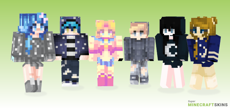 Moon Minecraft Skins - Best Free Minecraft skins for Girls and Boys