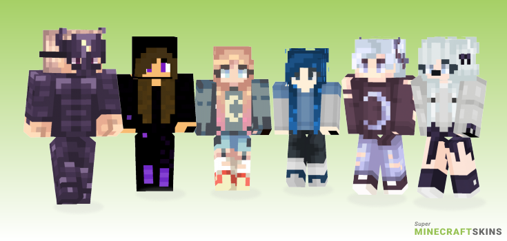 Moonlight Minecraft Skins - Best Free Minecraft skins for Girls and Boys