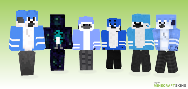 Mordecai Minecraft Skins - Best Free Minecraft skins for Girls and Boys
