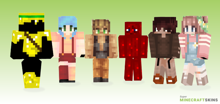 More Minecraft Skins - Best Free Minecraft skins for Girls and Boys