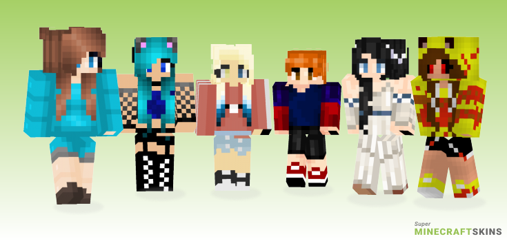 My friend Minecraft Skins - Best Free Minecraft skins for Girls and Boys