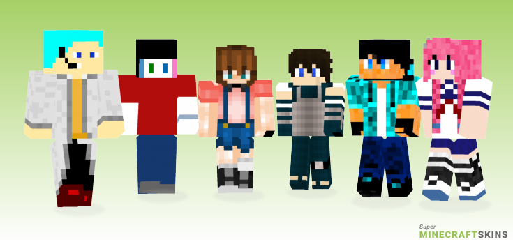 My Minecraft Skins - Best Free Minecraft skins for Girls and Boys