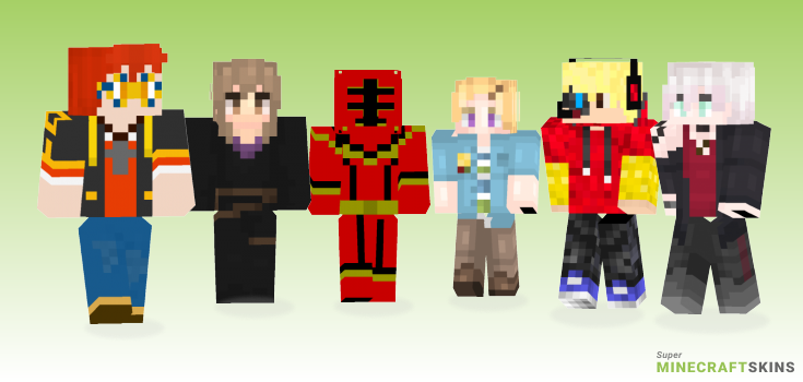 Mystic Minecraft Skins - Best Free Minecraft skins for Girls and Boys