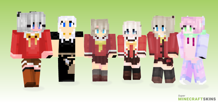 Nao Minecraft Skins - Best Free Minecraft skins for Girls and Boys