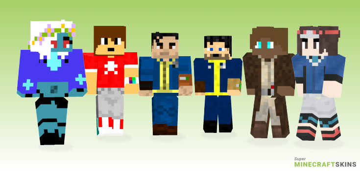 Nate Minecraft Skins - Best Free Minecraft skins for Girls and Boys