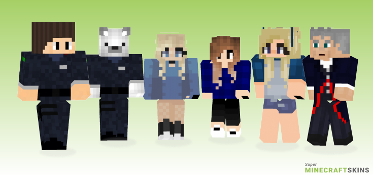 Navy Minecraft Skins - Best Free Minecraft skins for Girls and Boys