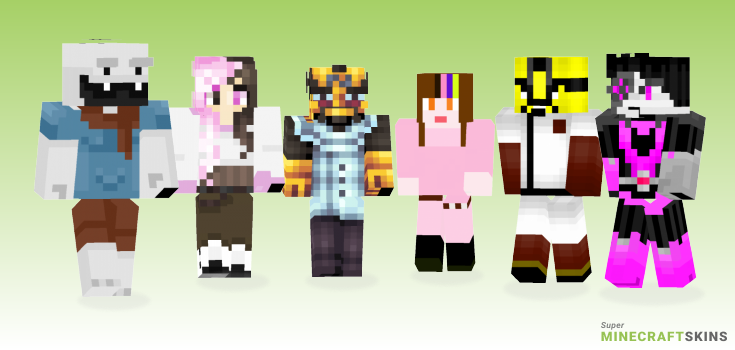 Neo Minecraft Skins - Best Free Minecraft skins for Girls and Boys