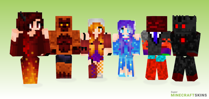 Ner Minecraft Skins - Best Free Minecraft skins for Girls and Boys