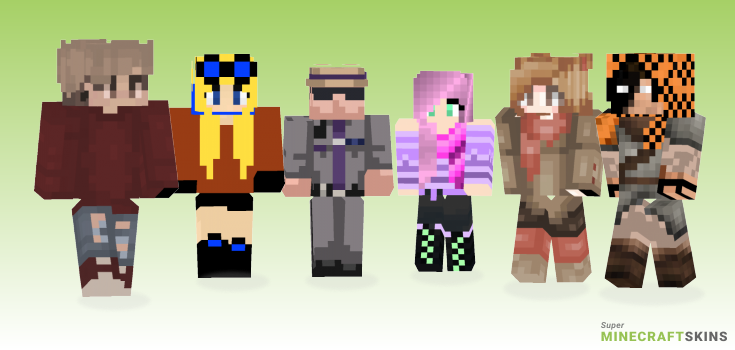 New Minecraft Skins - Best Free Minecraft skins for Girls and Boys