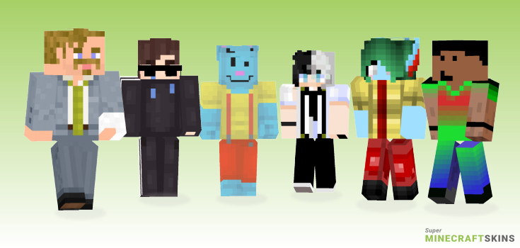 Nice Minecraft Skins - Best Free Minecraft skins for Girls and Boys