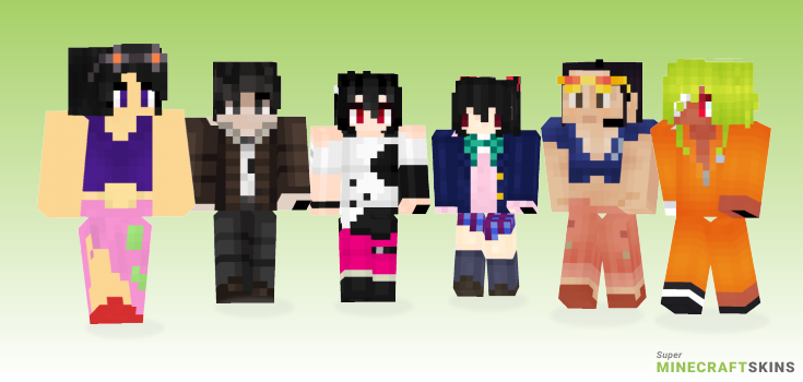 Nico Minecraft Skins - Best Free Minecraft skins for Girls and Boys