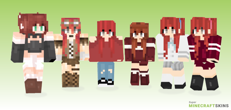 Nicole Minecraft Skins - Best Free Minecraft skins for Girls and Boys