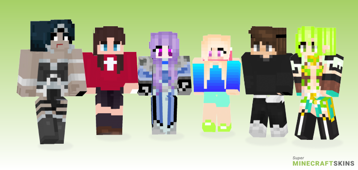 Night Minecraft Skins - Best Free Minecraft skins for Girls and Boys