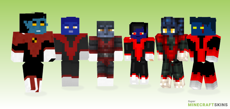 Nightcrawler Minecraft Skins - Best Free Minecraft skins for Girls and Boys