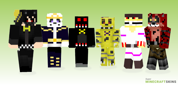 Nightmare Minecraft Skins - Best Free Minecraft skins for Girls and Boys
