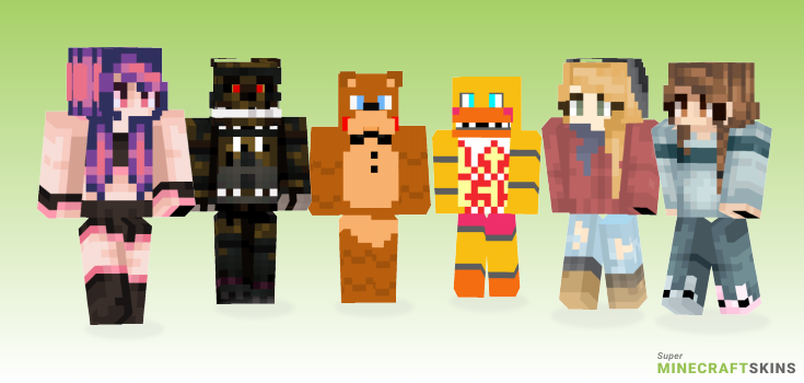 Nights Minecraft Skins - Best Free Minecraft skins for Girls and Boys