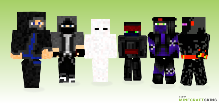 Ninja Minecraft Skins - Best Free Minecraft skins for Girls and Boys