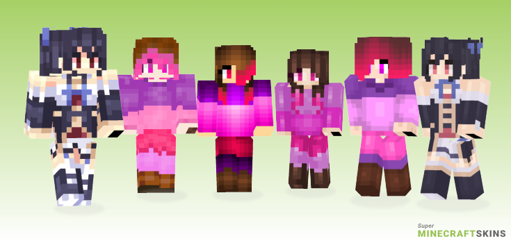 Noire Minecraft Skins - Best Free Minecraft skins for Girls and Boys