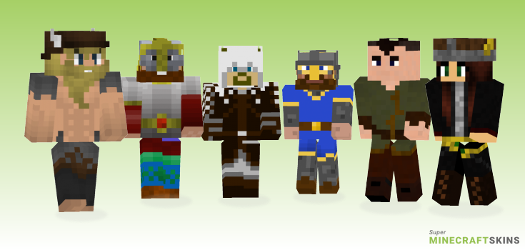 Norse Minecraft Skins - Best Free Minecraft skins for Girls and Boys