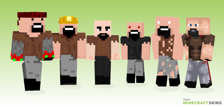 Notch Minecraft Skins - Best Free Minecraft skins for Girls and Boys