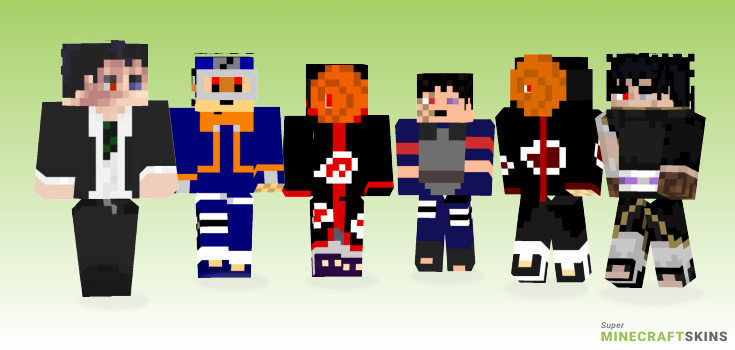 Obito Minecraft Skins - Best Free Minecraft skins for Girls and Boys