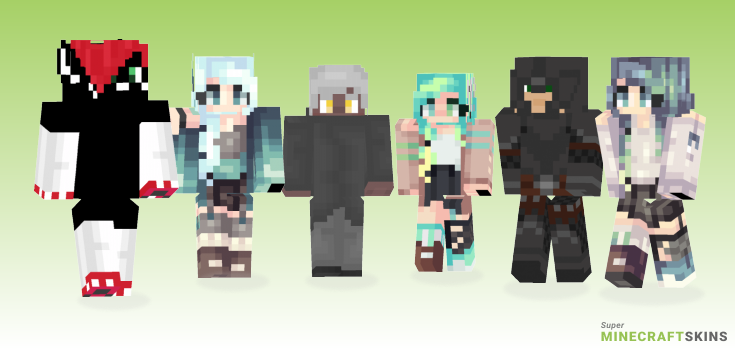 Oblivion Minecraft Skins - Best Free Minecraft skins for Girls and Boys