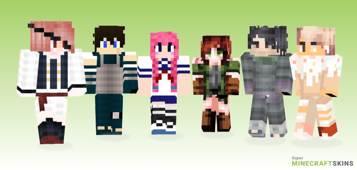 Oc Minecraft Skins - Best Free Minecraft skins for Girls and Boys