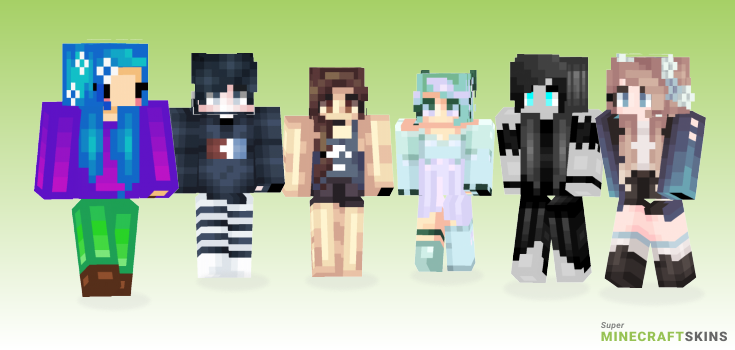 Ocean Minecraft Skins - Best Free Minecraft skins for Girls and Boys