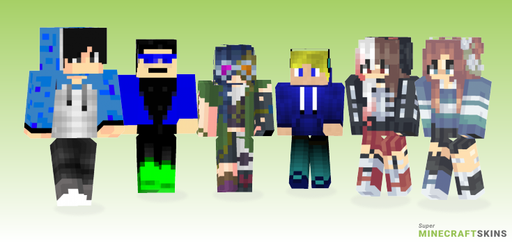 Official Minecraft Skins - Best Free Minecraft skins for Girls and Boys