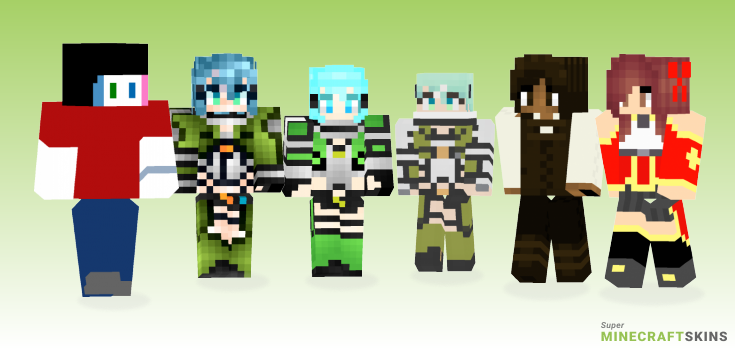 Online Minecraft Skins - Best Free Minecraft skins for Girls and Boys