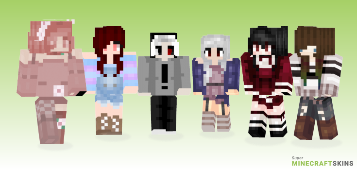 Oo Minecraft Skins - Best Free Minecraft skins for Girls and Boys