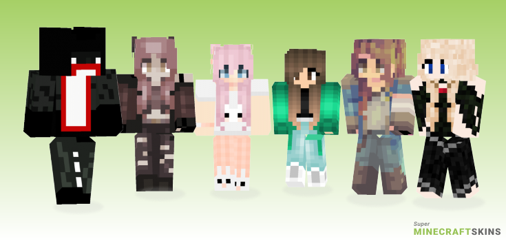 Open Minecraft Skins - Best Free Minecraft skins for Girls and Boys