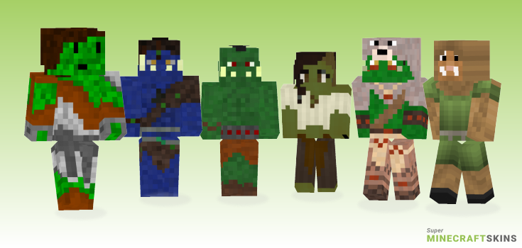 Orc Minecraft Skins - Best Free Minecraft skins for Girls and Boys