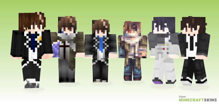 Ouma Minecraft Skins - Best Free Minecraft skins for Girls and Boys