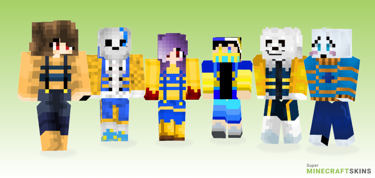 Outertale Minecraft Skins - Best Free Minecraft skins for Girls and Boys