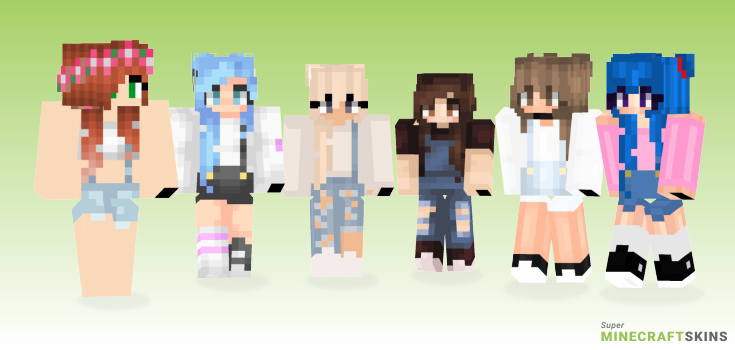 Overalls Minecraft Skins - Best Free Minecraft skins for Girls and Boys