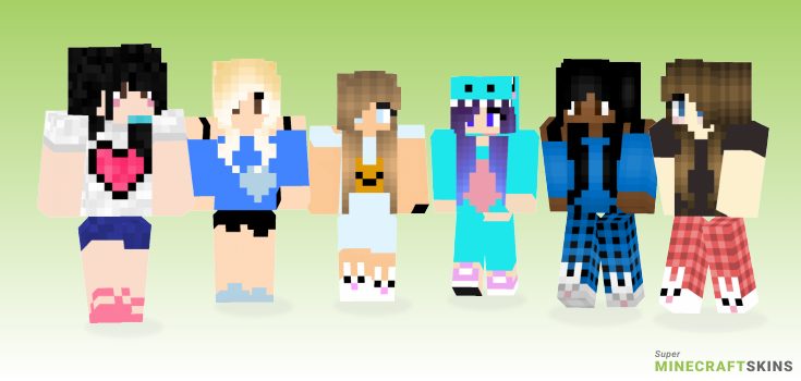 Pajama Minecraft Skins - Best Free Minecraft skins for Girls and Boys