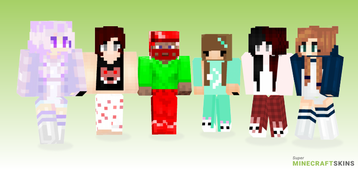 Pajamas Minecraft Skins - Best Free Minecraft skins for Girls and Boys