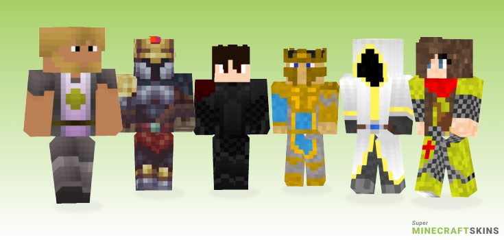 Paladin Minecraft Skins - Best Free Minecraft skins for Girls and Boys