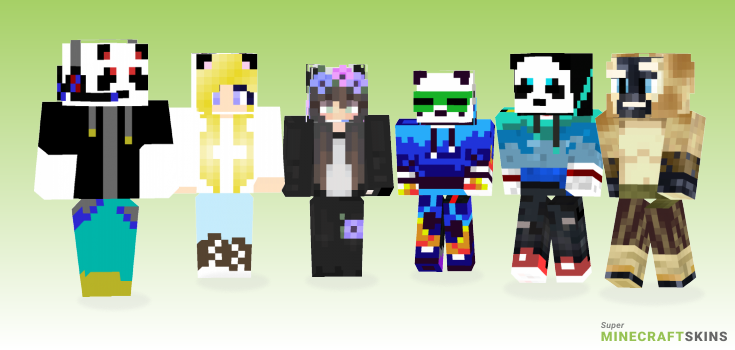 Panda Minecraft Skins - Best Free Minecraft skins for Girls and Boys