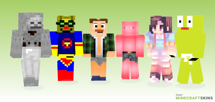 Pants Minecraft Skins - Best Free Minecraft skins for Girls and Boys