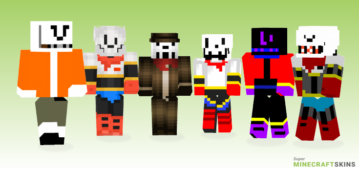 Papyrus Minecraft Skins - Best Free Minecraft skins for Girls and Boys