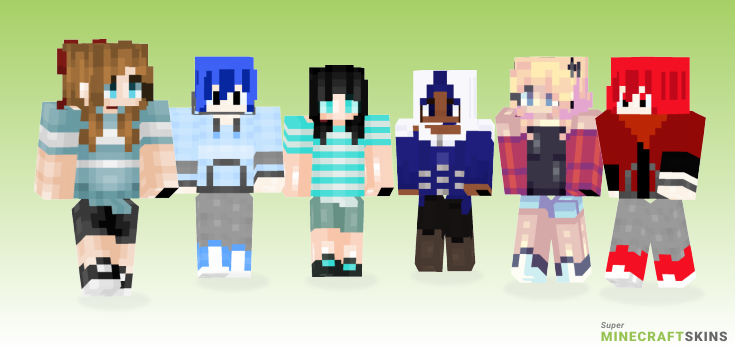 Patience Minecraft Skins - Best Free Minecraft skins for Girls and Boys