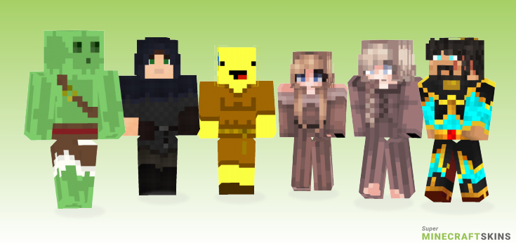 Peasant Minecraft Skins - Best Free Minecraft skins for Girls and Boys