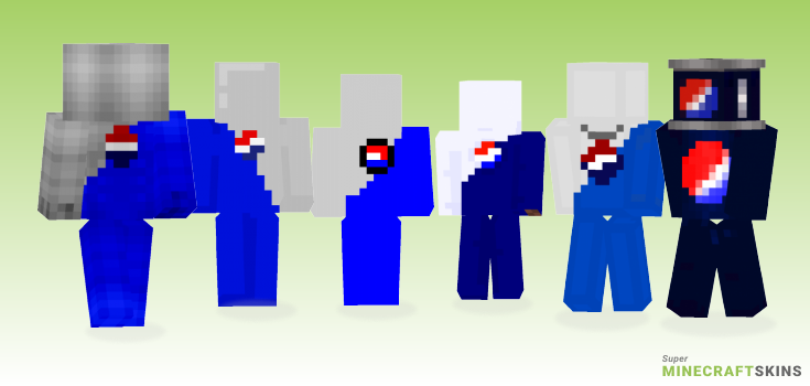 Pepsi Minecraft Skins - Best Free Minecraft skins for Girls and Boys