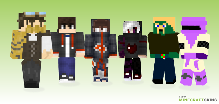 Person Minecraft Skins - Best Free Minecraft skins for Girls and Boys