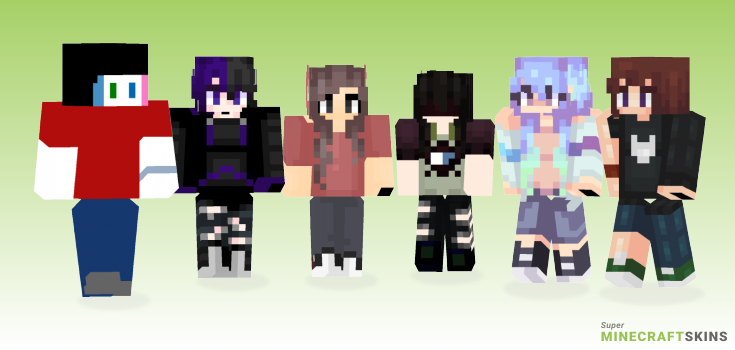Persona Minecraft Skins - Best Free Minecraft skins for Girls and Boys