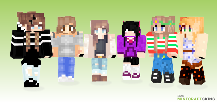 Personal Minecraft Skins - Best Free Minecraft skins for Girls and Boys