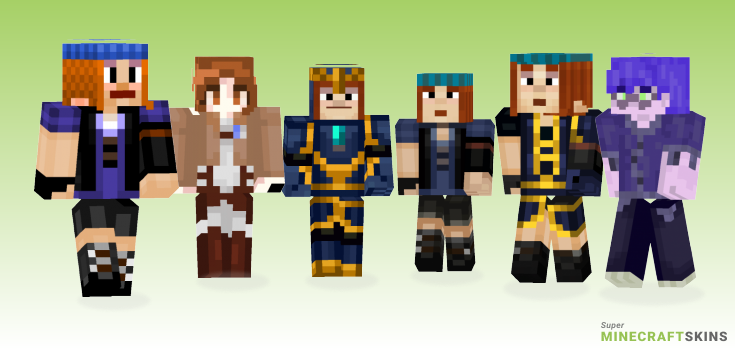 Petra Minecraft Skins - Best Free Minecraft skins for Girls and Boys