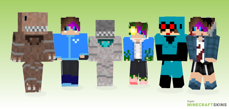 Phantom Minecraft Skins - Best Free Minecraft skins for Girls and Boys